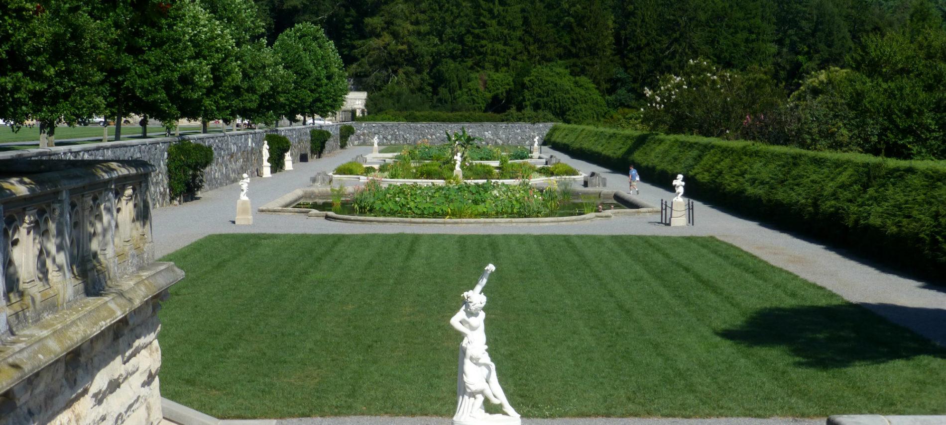 The Italian Garden At Biltmore Estate In Asheville