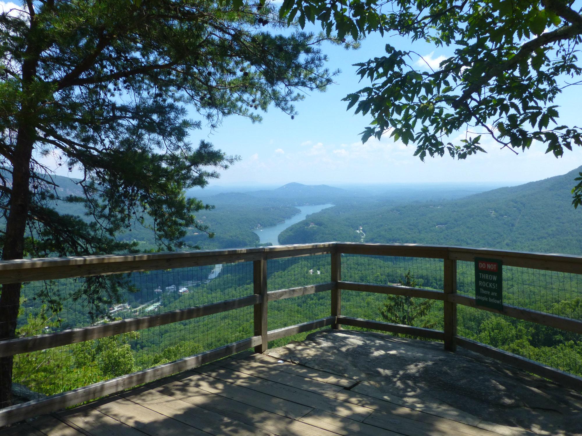 Chimney Rock Vista Rock View July 2016