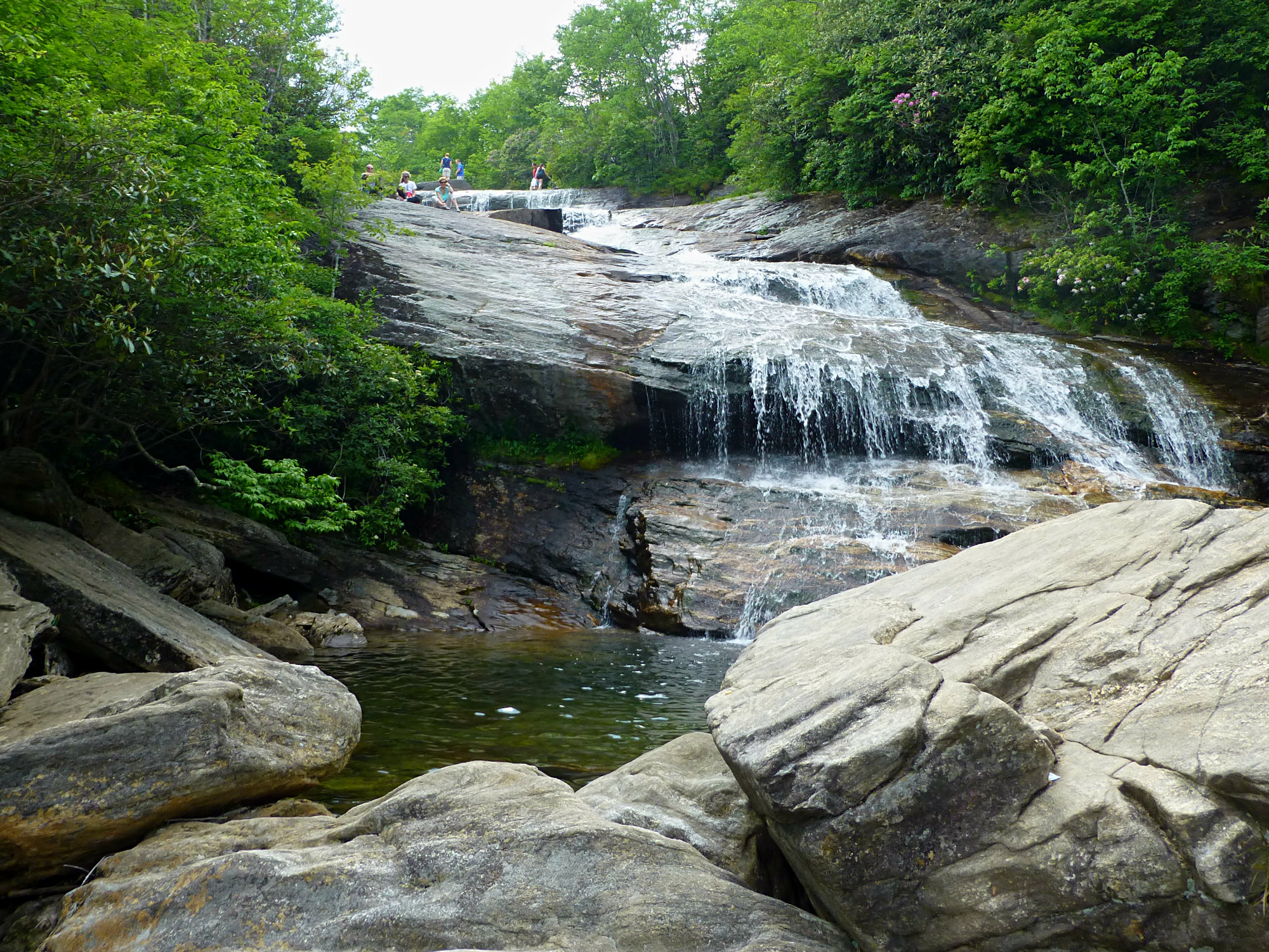 Graveyard Fields Lower Falls June 2016