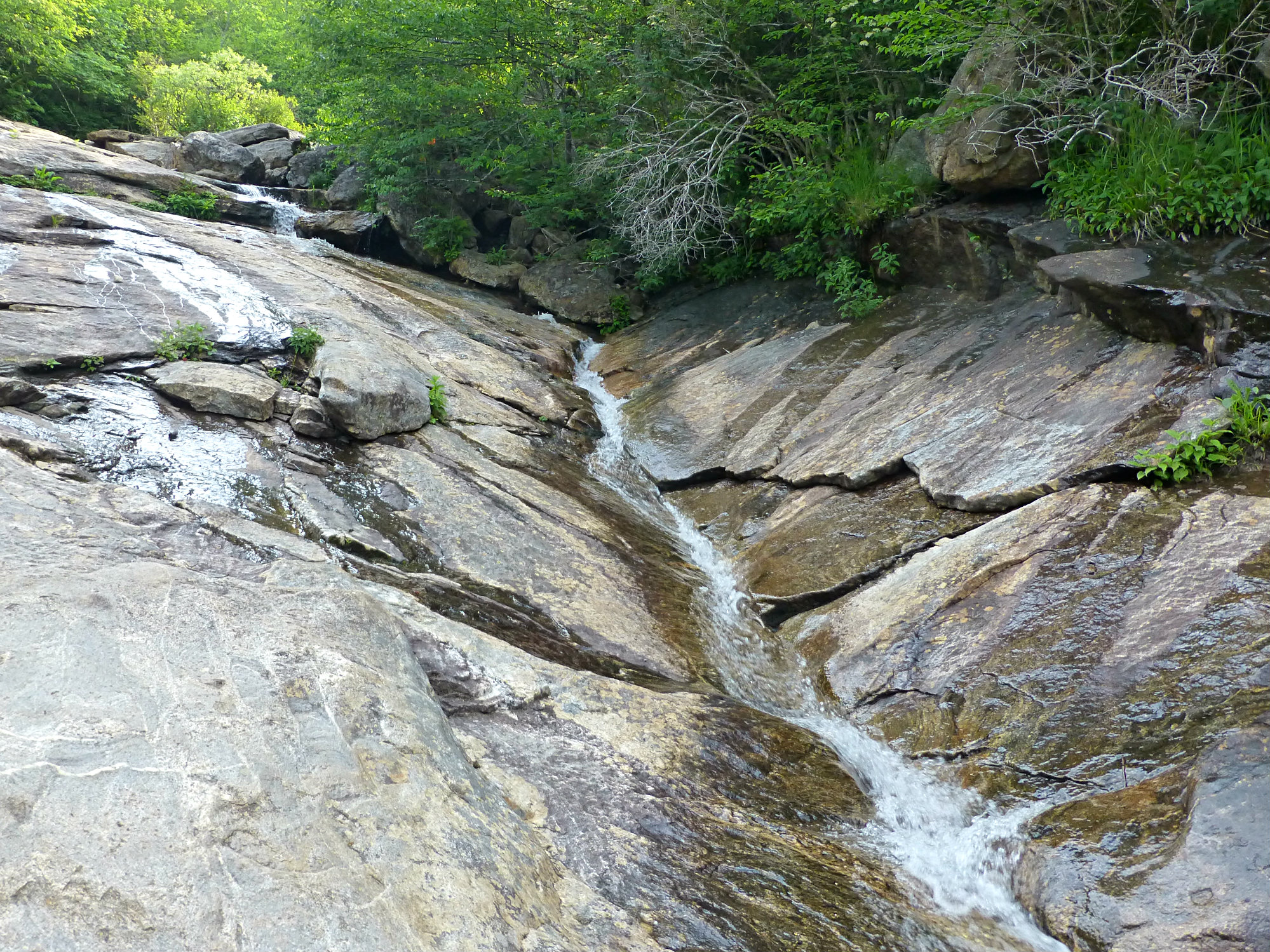 Graveyard Fields Upper Falls June 2016