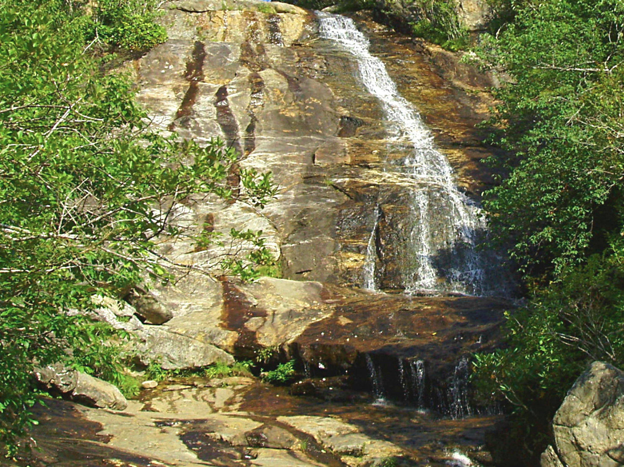 Graveyard Fields Waterfall Upper
