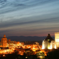 asheville-night-skyline