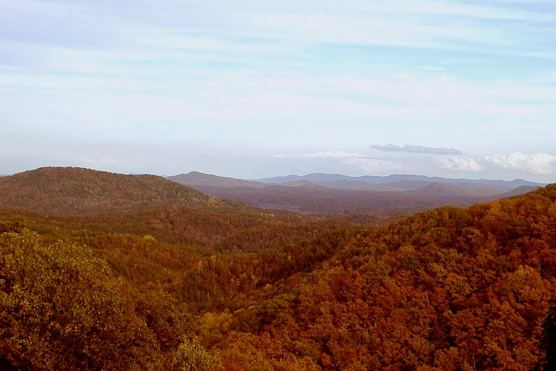 point lookout trail fall blog