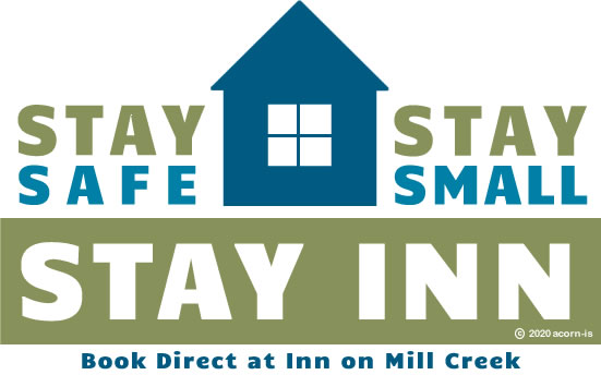 Logo that says Stay Safe, Stay Small, Stay Inn